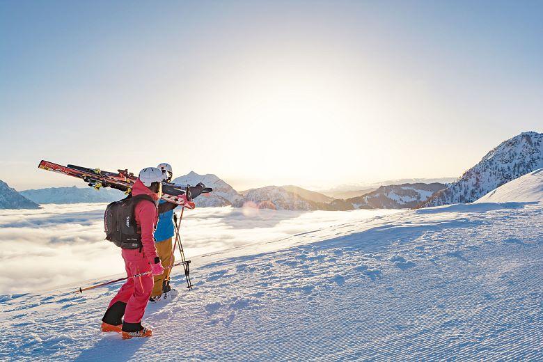 Skifahren-Fieberbrunn©lacknerhelmuttvbpillerseetal